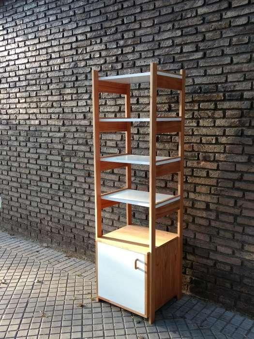 Biblioteca Estilo Escandinavo Rosario