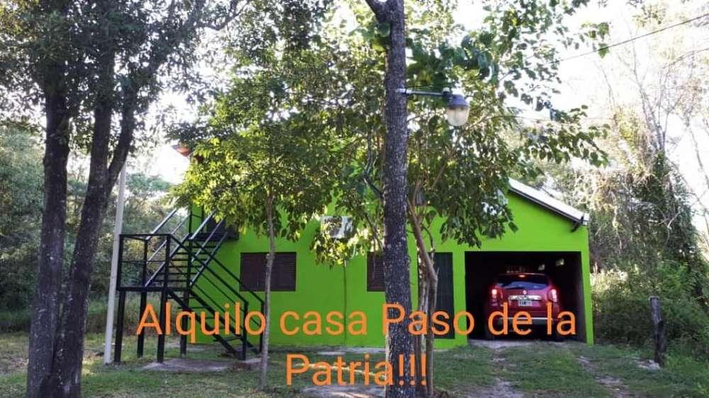 Alquiler en Paso de la Patria, Corrientes por temporada.