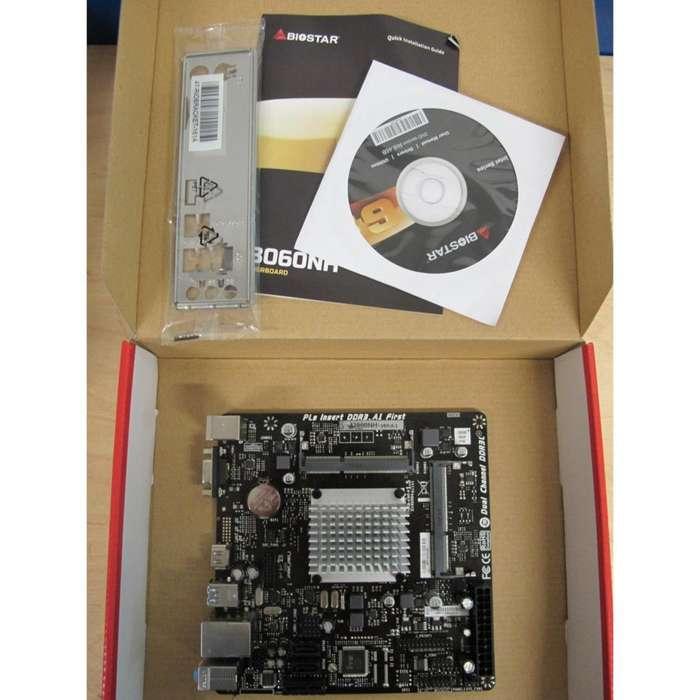 Kit De Actualización Dual Core Intel Celeron J3060 / 1.6Ghz / 2.48Ghz Turbo / 4Gb Ram / Mother