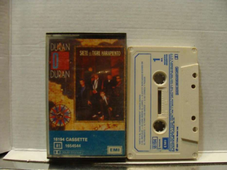 Duran Duran – Siete Y El Tigre Harapiento Seven And The Ragged Tiger - Cassette ARG