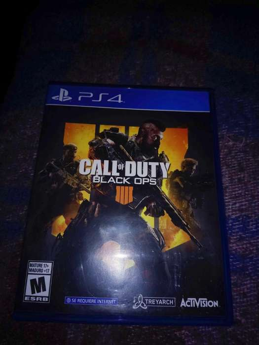 Vendo Call Of Duty Black Ops 4 Ps4 Fisic
