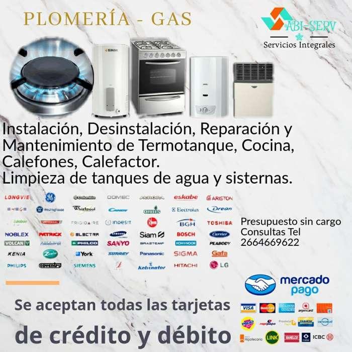 Plomería Gas