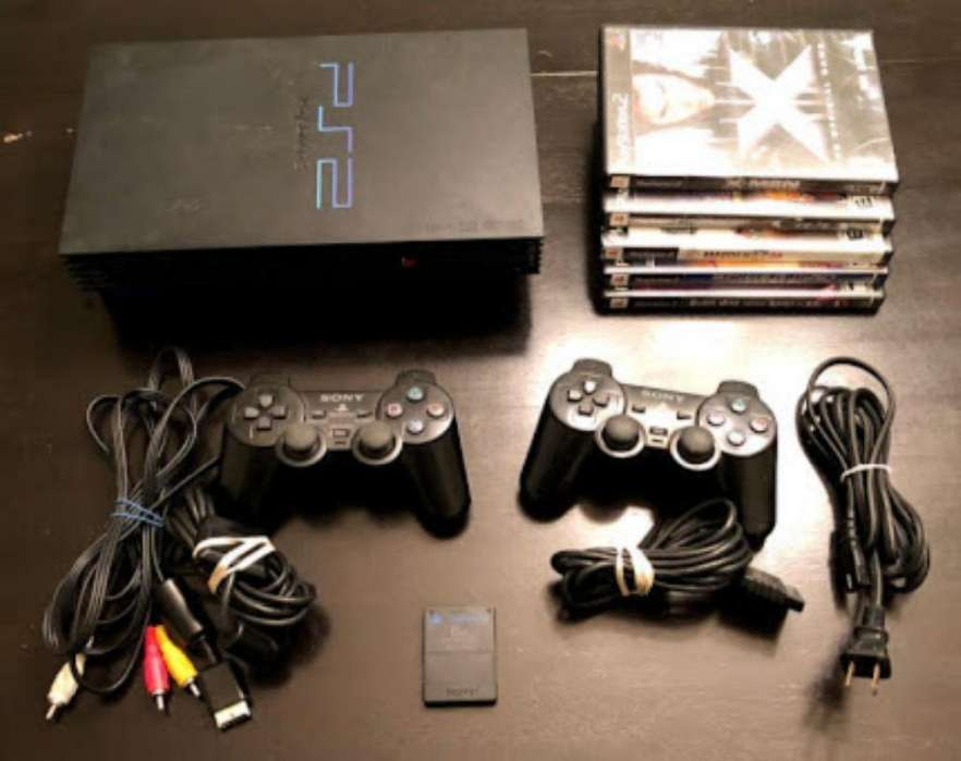Play Station 2 Ps2 Fat Buen Estado