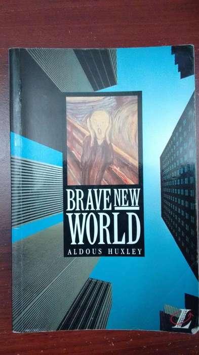 Libro Brave New World Aldous Huxley usado