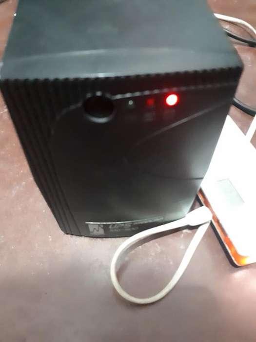 UPS Backup bateria MAGOM mg500 500VA