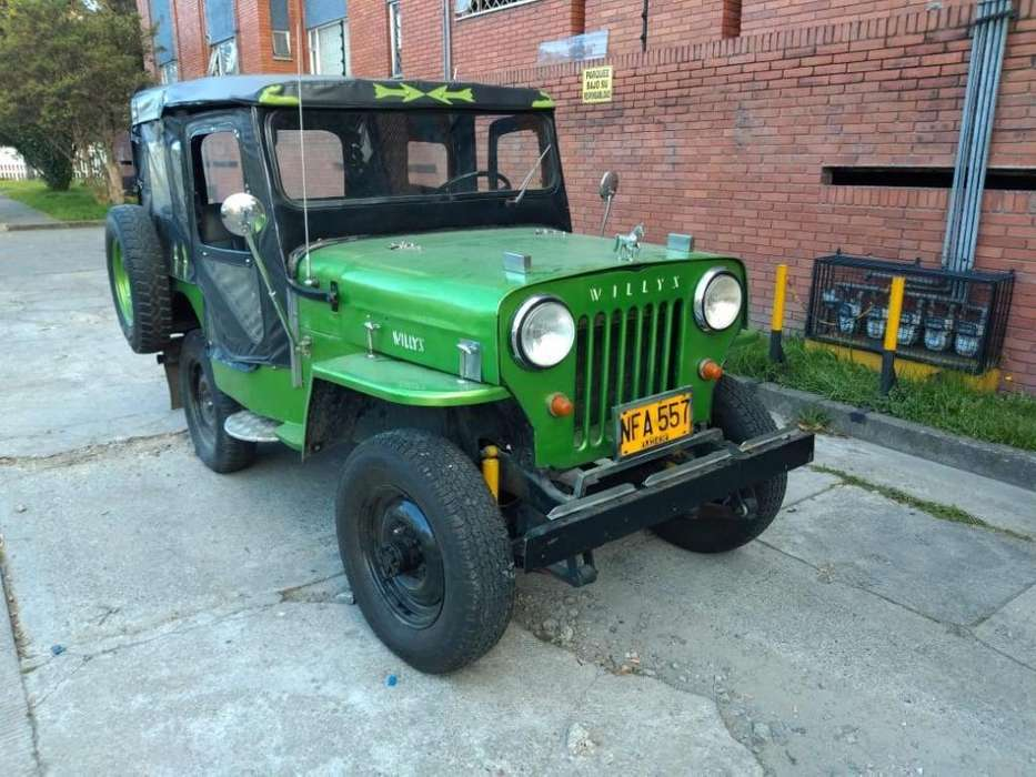 <strong>jeep</strong> Willys 1953 - 5000 km
