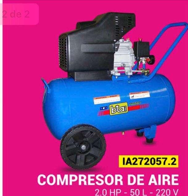 Compresor de 50 Litros Bta Tools