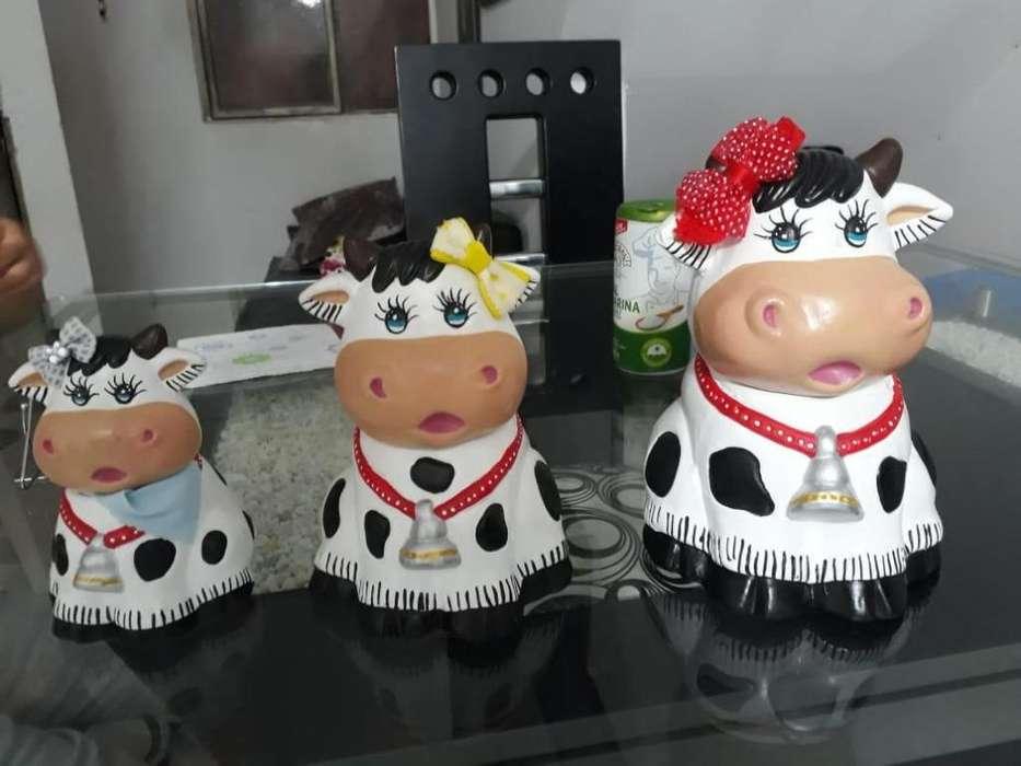 trio de vacas