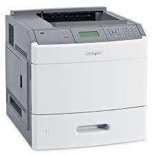 Impresora Lexmark Láser T654 Duplex Doble Faz 50ppm Red