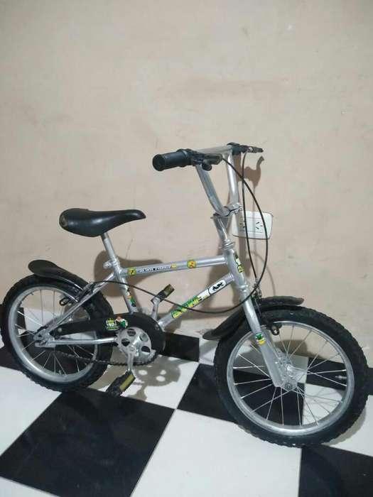 Bici de Ben 10 Rod16