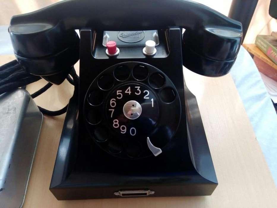 Telefono Antiguo Ericsson De 2 Lineas Telefonicas Usado Decoracion