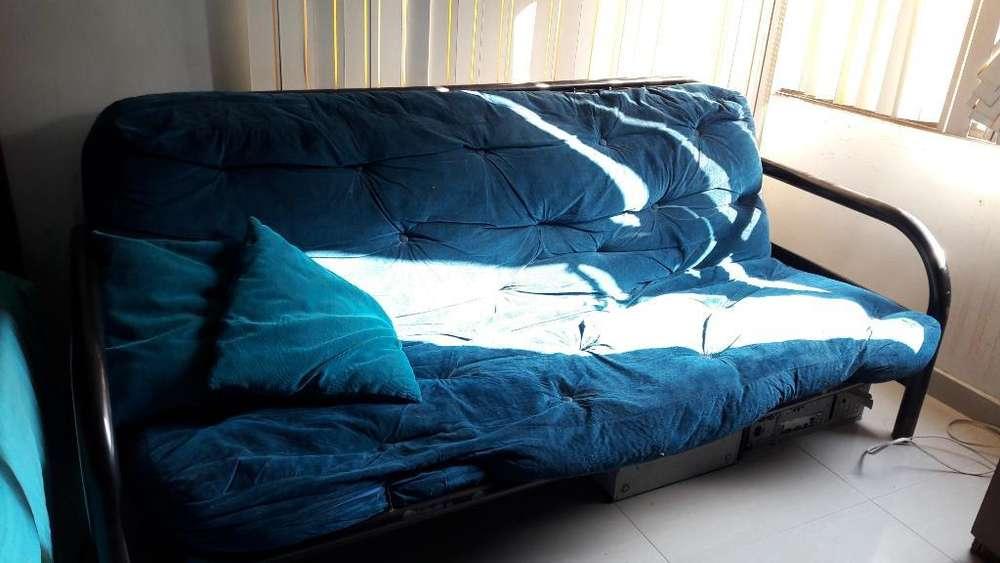 Sofa Cama de Dos Puestos