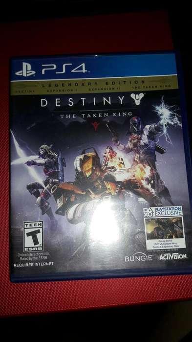 Vendo Juego de Play 4 Destiny