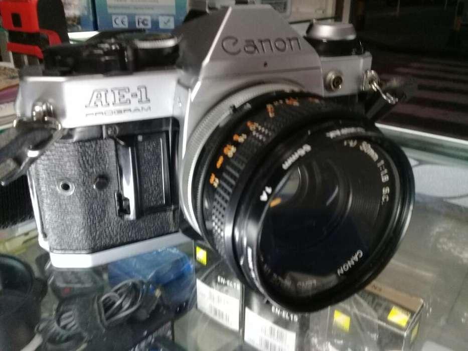Canon Ae-1 Program con 50mm F1.8