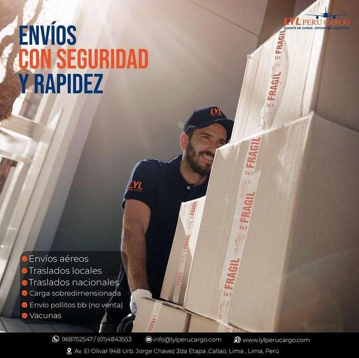 LYL PERU CARGO agente de carga / operador logístico
