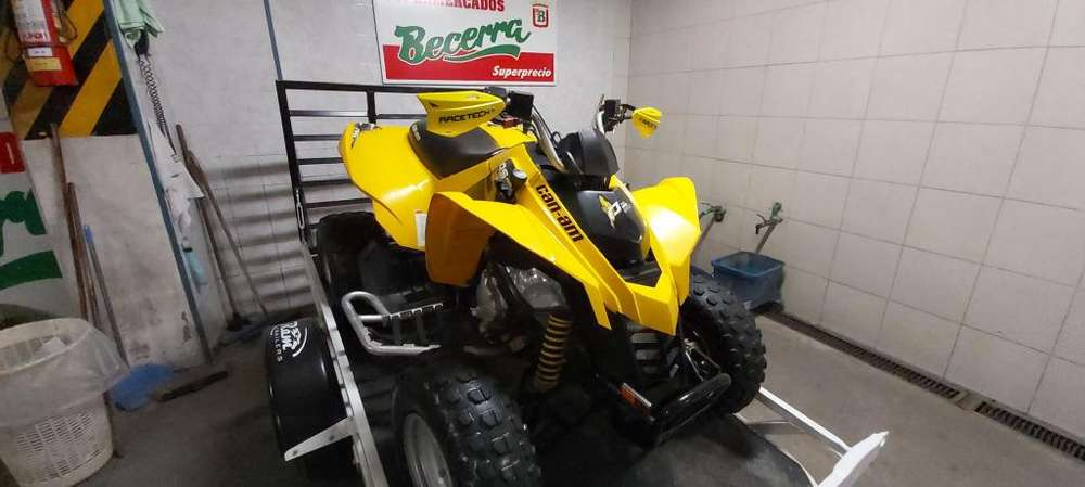 cuatriciclo can am 250 ds