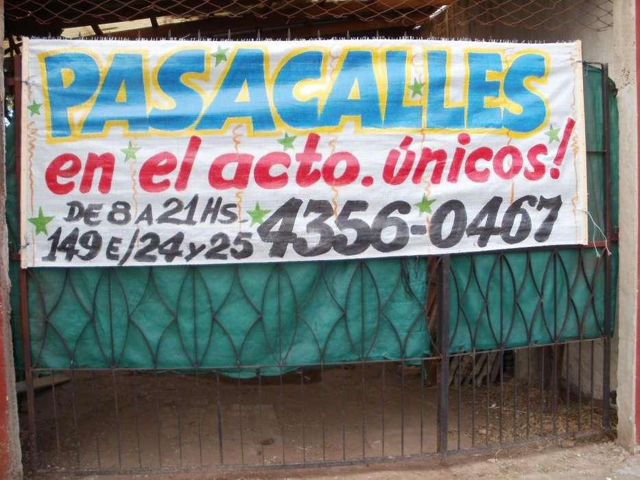 PASACALLES Y CARTELES DE DUEÑO VENDE O ALQUILA 4356 0467