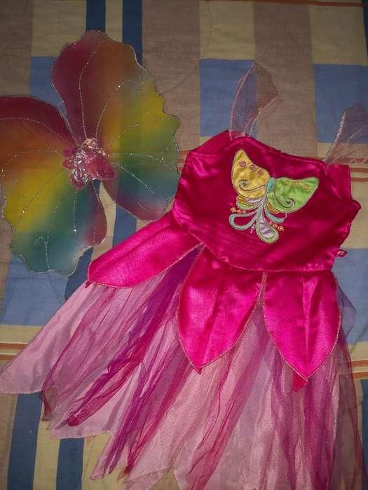 Disfraz Hada Barbie Talla 12