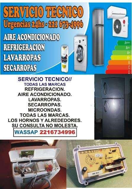 REFRIGERACION // LAVARROPAS // SERVICIO TECNICO // TODAS LAS MARCAS