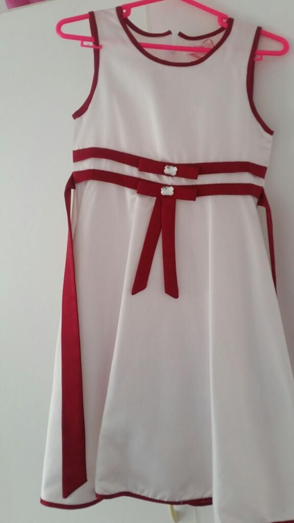 a0158a062 Vendo Hermosísimo Vestido para Niña Talla 12 Anterior Siguiente ...