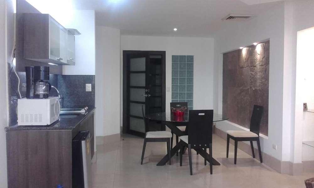 Elegante Suite Amoblada en Edif San Francisco 300 Centro GYE