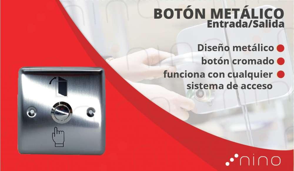 Botón metálica para diferentes usos