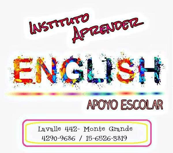 INGLÉS, CLASES DE APOYO EN MONTE GRANDE