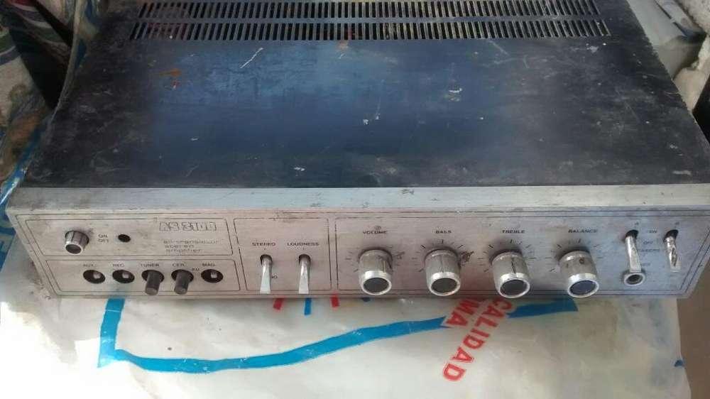 Amplificador Gabinete Vacio con Potencio