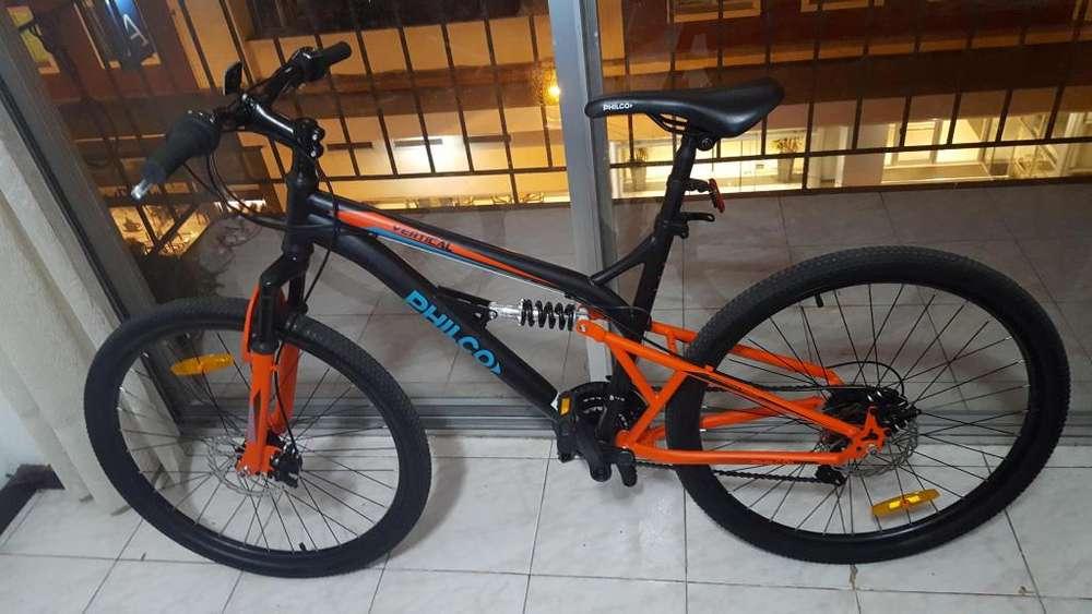 Bicleta philco rodado 26