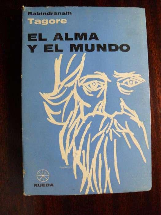 EL ALMA Y EL MUNDO RABINDRANATH TAGORE EDICIONES RUEDA 181 PAGINAS