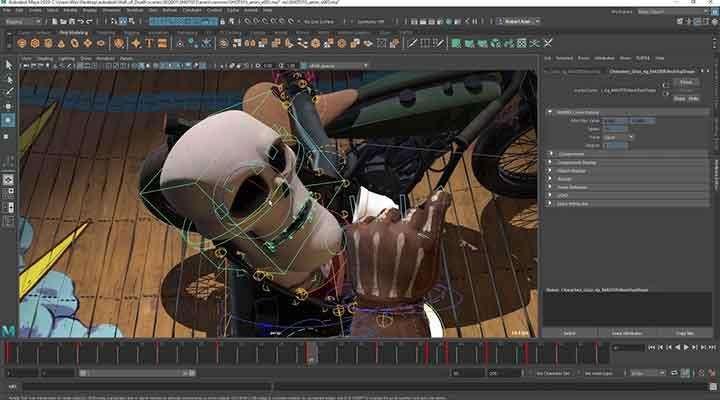 Programa M_aya 3D A_utodesk 2018/2019 Windowa 32/64 Bits Software Crear Cine Animado Animacion y Renderizado 3D