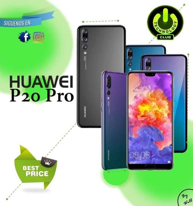 Huawei P20 Pro Gama P 40 Megapixeles Triple Camara Equipos sellados Garantia 12 Meses / Tienda Fisica Centro Trujillo