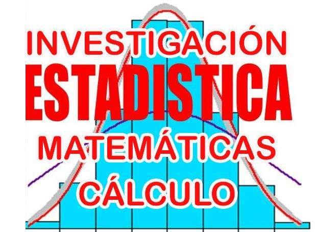 0998409099 Profesor Clases Domicilio Estadística Matemáticas Cálculo. Asesoría de Tesis
