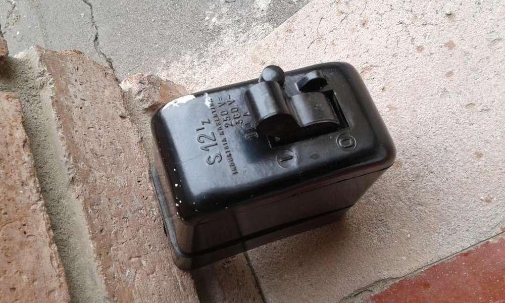 antiguas llaves termicas