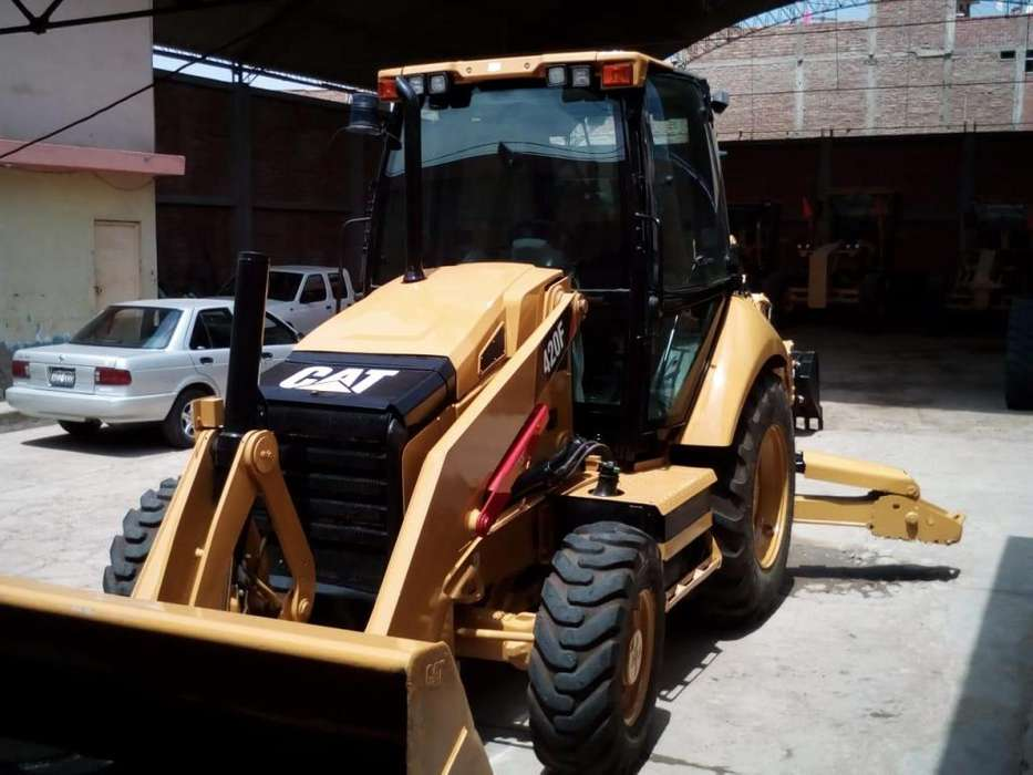 RETROEXCAVADORA CAT 420F CEL 979905553
