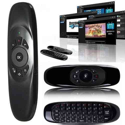 Air Mouse Teclado Inalámbrico Giroscopio Tv Box Pc Android