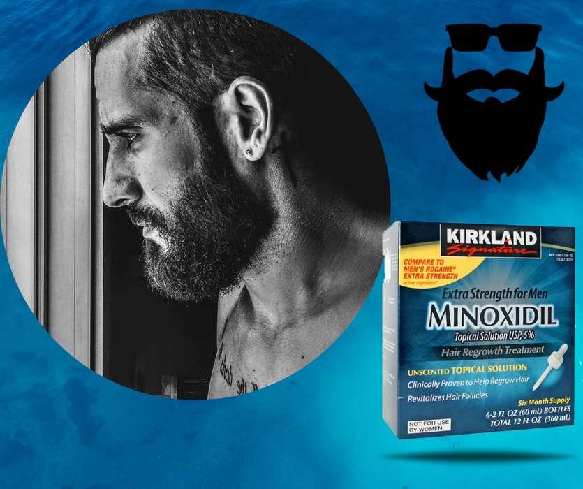 Minoxidil al 5 Kirkland. Caja Sellada 6 frascos Original. Importado USA.