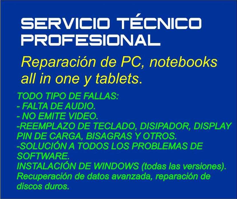 REPARACIÓN DE PC NOTEBOOKS CORDOBA