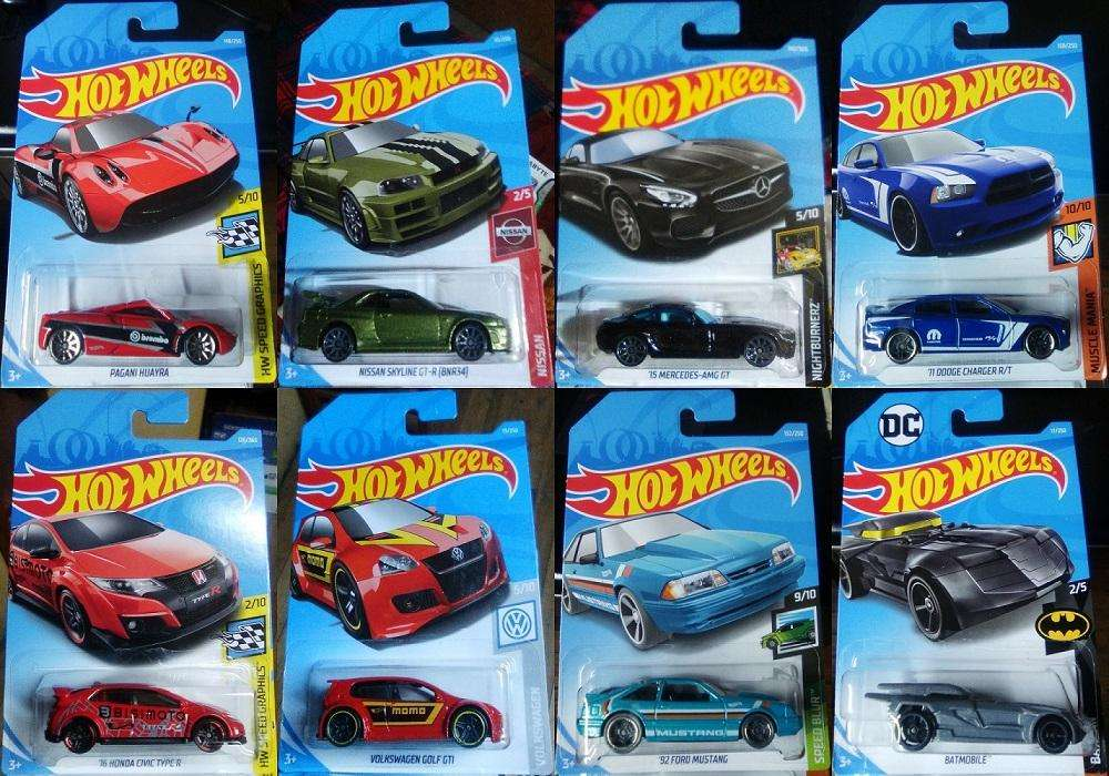 Lote de 8 Autos Hot Wheels en 20 Dólares
