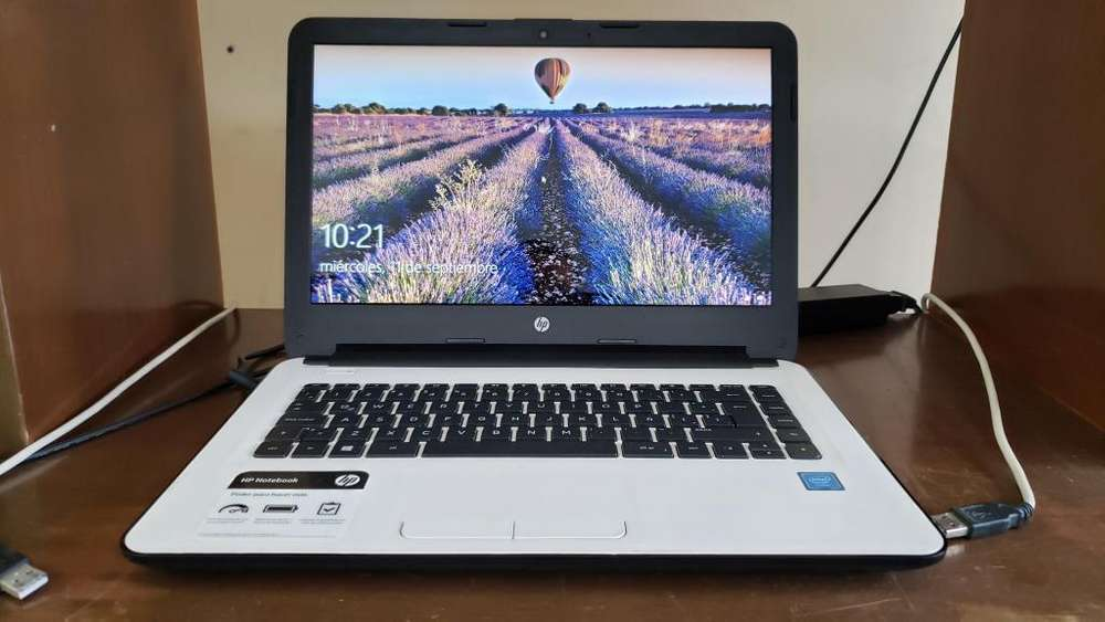 Portatil HP 4GB Ram Disco SSD 230GB Windows 10 Celeron 1.6 GHz