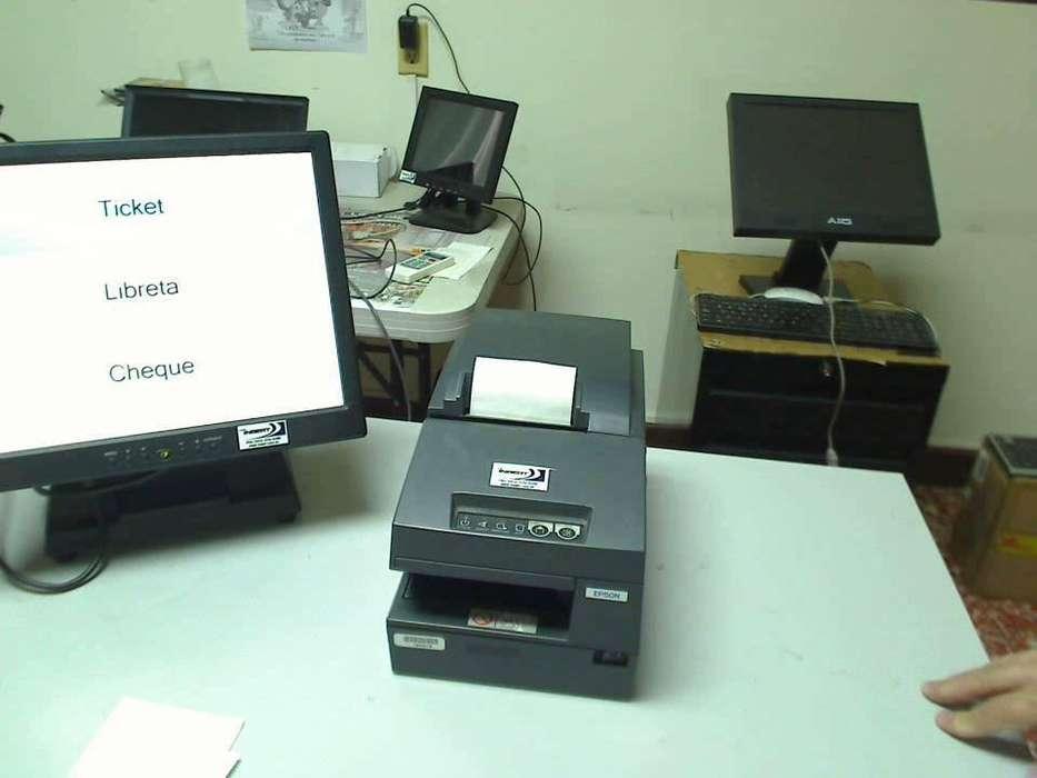 PROMOCION TENEMOS IMPRESORAS PARA PUNTO DE VENTA POS MARCA EPSON TU676 PAPEL 80MM CONEXION USB USADA GARANTIA 3 MESES