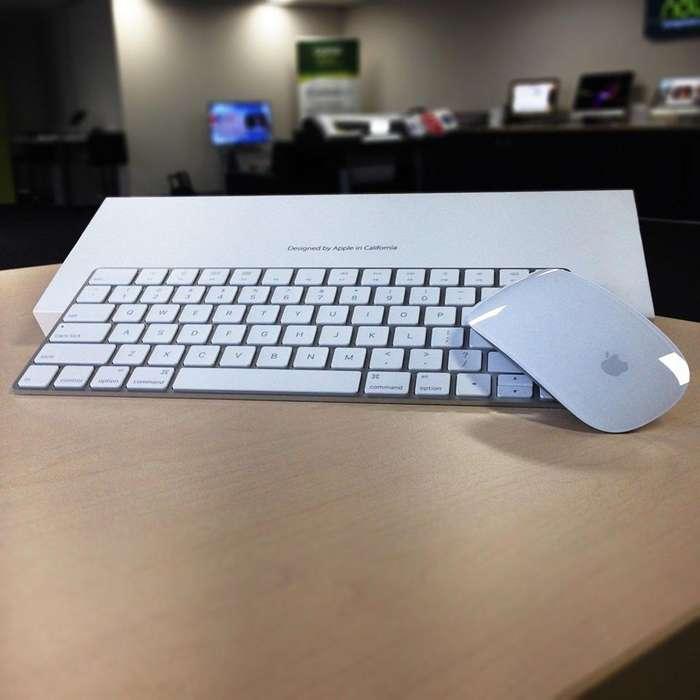 Teclado y mouse Apple segunda generación