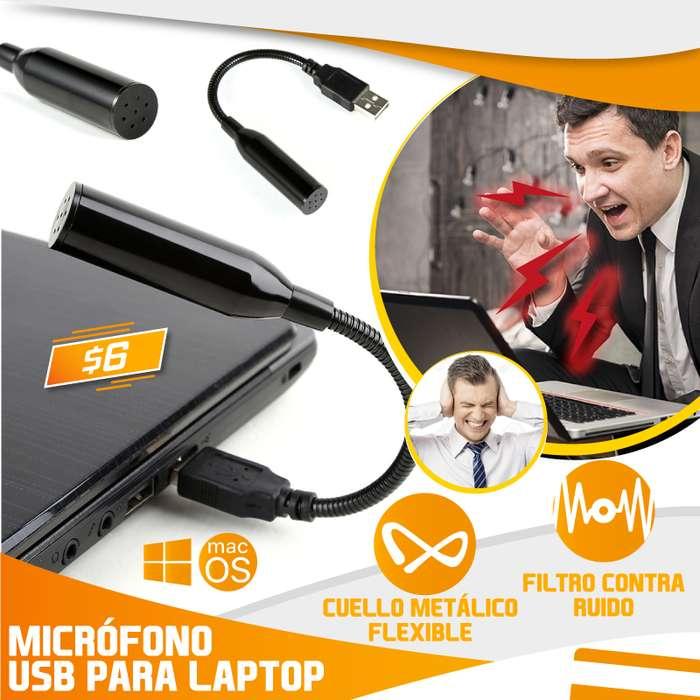 MICRÓFONO USB PARA LAPTOP