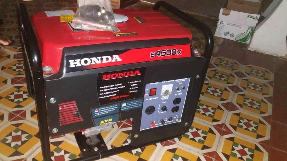 Generador Honda E4500x