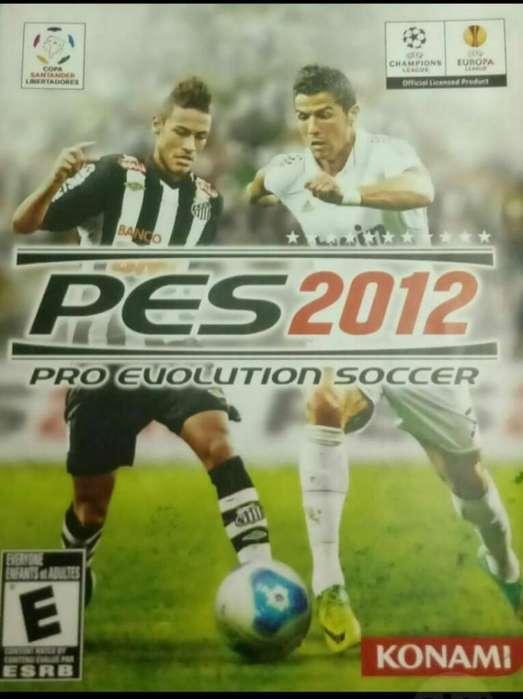 Ps3 Juego Play 3 Pes2012