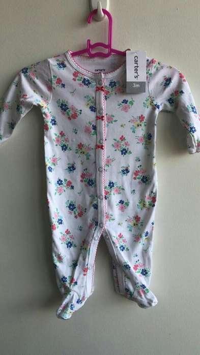 Pijamas Niña Carter's Talla 3 Meses
