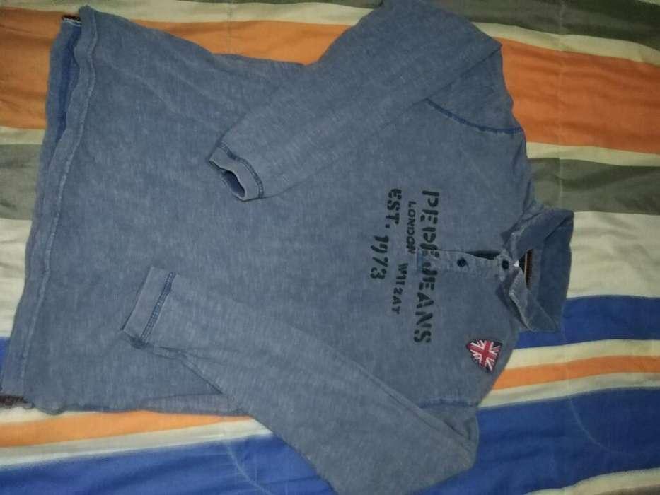 Polo Manga Larga Pepe Jeans 16