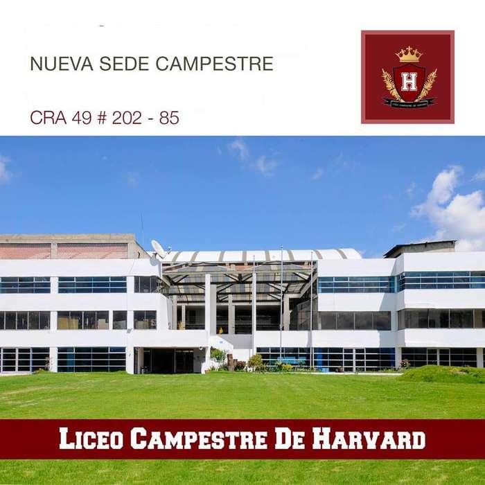 CUPOS LICEO CAMPESTRE HARVARD 2020