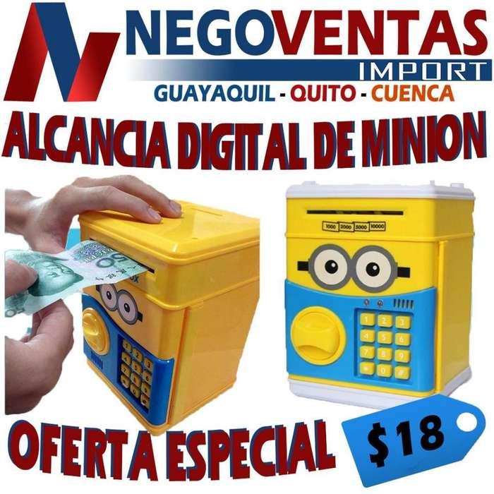 ALCANCIA DIGITAL DE MINION