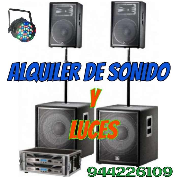 Alquiler de Sonido Y Luces Trujillo